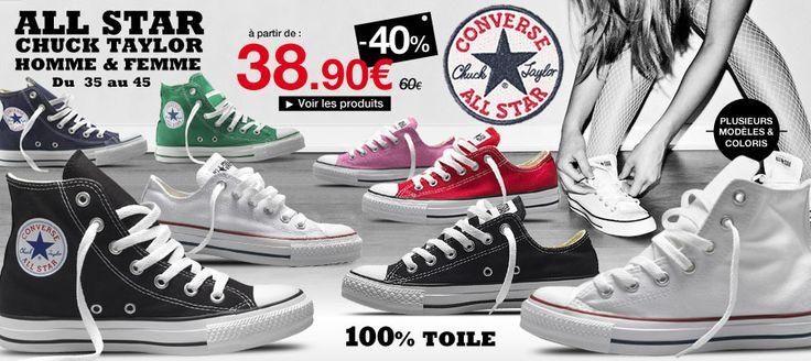 #Converse pas cher