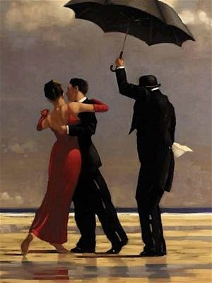 The Singing Butler by Jack Vettriano...someday I will have this print