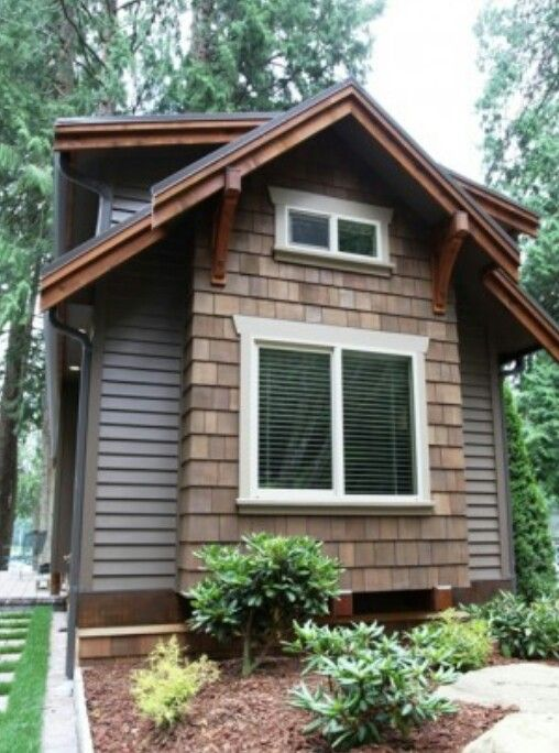 Veritas park model tiny house exterior pinterest Small home models pictures