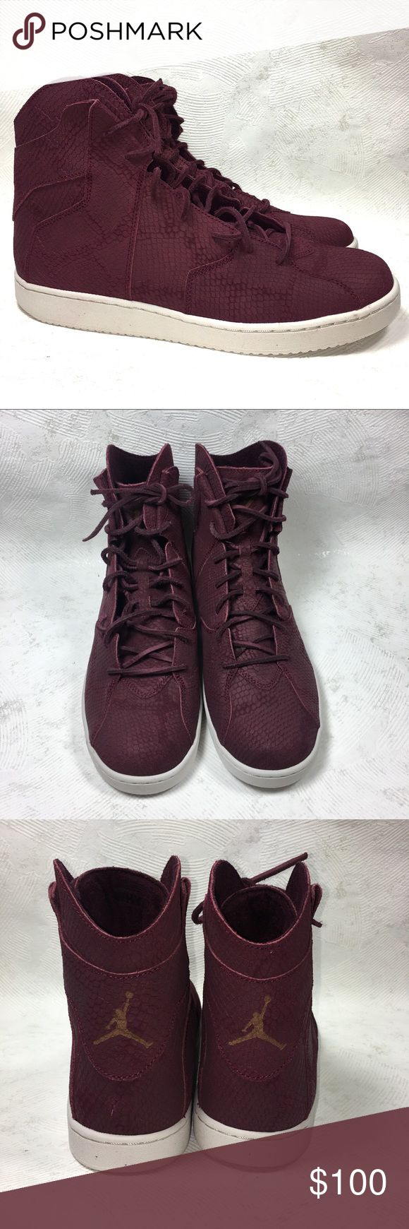 NEW Jordan Westbrook 2.0 Burgundy Suede Snakeskin Burgundy Snakeskin Suede Nike Jordan Westbrook 2.0 comes with standard & suede laces  ⁃Size: 11  ⁃Condition: Brand new with no flaws. Does not come with original box  ⁃Material Makeup: Suede  📦📫Same to Next Day Shipping! ✖️Don't like the Price? Make an Offer!  ❓Have a Question? Ask!  🍁Bundle & Save! Add item(s) to a bundle for a private offer! 🍁 Jordan Shoes Athletic Shoes
