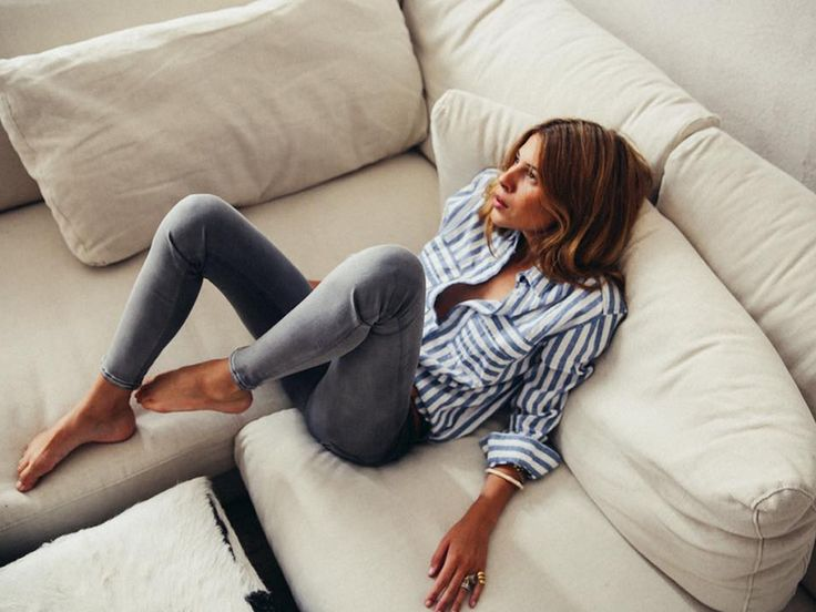 Trägt die neue Replay Touch Jeans schon: Instagram-Star Maja Wyh