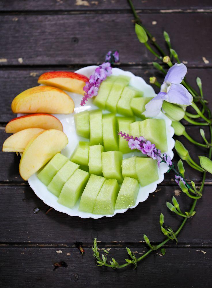 Honeydew Melon and Apple