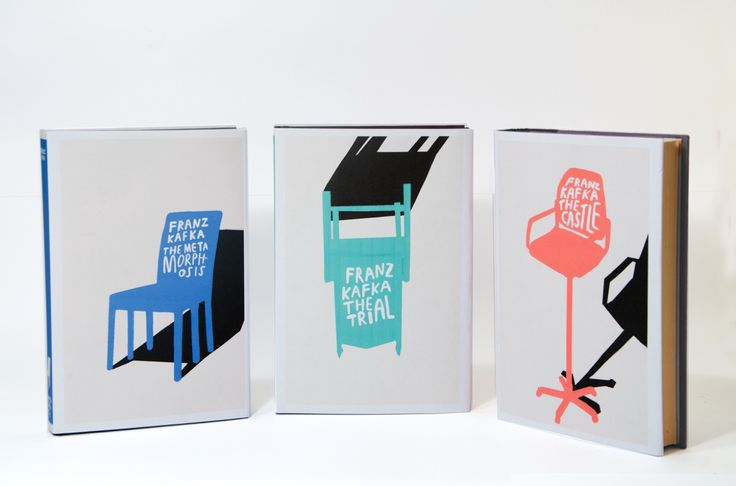 Redesign of three classic Kafka novels, 2013 www.sofieensby.com