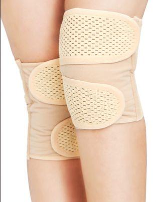 Магнитного боли в колене, медицинский уход для мужчин и женщин старые холодные ноги колено толстые теплые осень холодная испугался подлинной здоровья