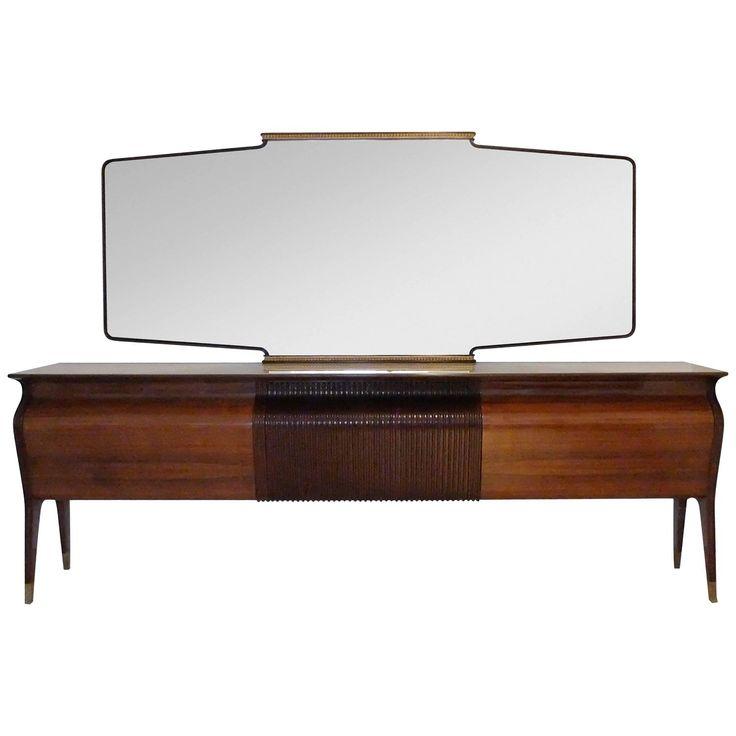 Magnificent Ornate Sideboard by Osvaldo Borsani