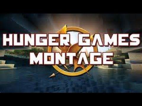 EPIC MINECRAFT HUNGER GAMES MONTAGE!