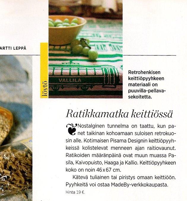 Eeva -magazine, 04/2012