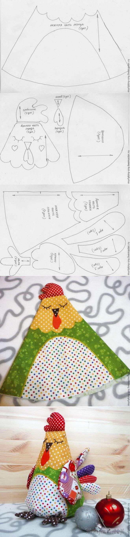 Шьем игрушку петушок «Горошек» - Блог. Галина Бабкова - Группы Мой Мир
