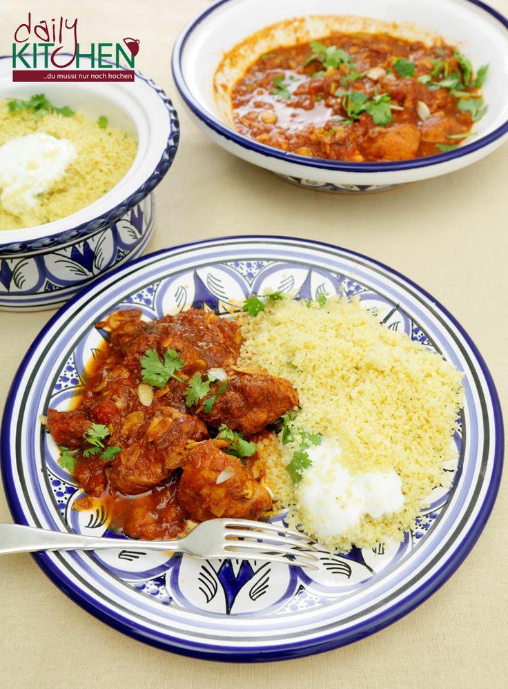 25+ melhores ideias sobre schnelle rezepte mit reis no pinterest ... - Nordafrikanische Küche