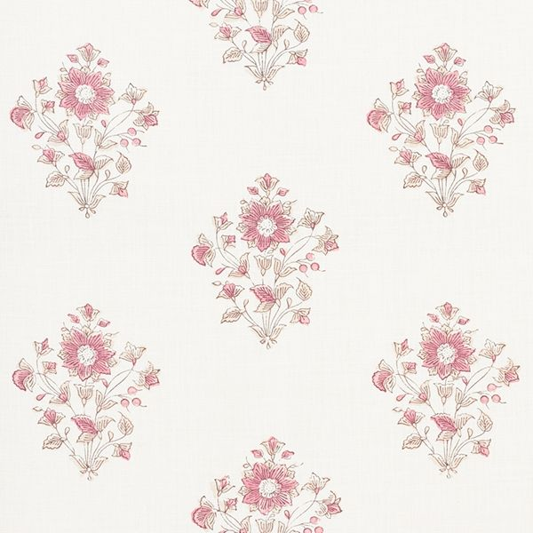 BEATRICE (Fabric): Interior designer Matthew Patrick Smyth designed his collection for Schumacher several years ago and it's still going strong. That's because good design never goes out of style. We recently added a new color to his Beatrice floral. Soooo pretty!