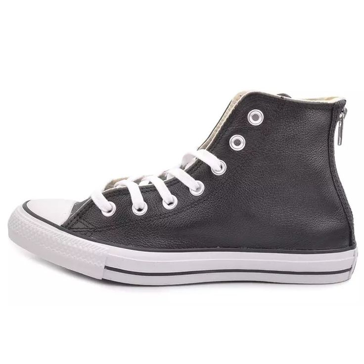 eec3ae31f2f8  converse new spring men s shoes cow leather zipper after vulcanized shoes  147083 147 082 147 084