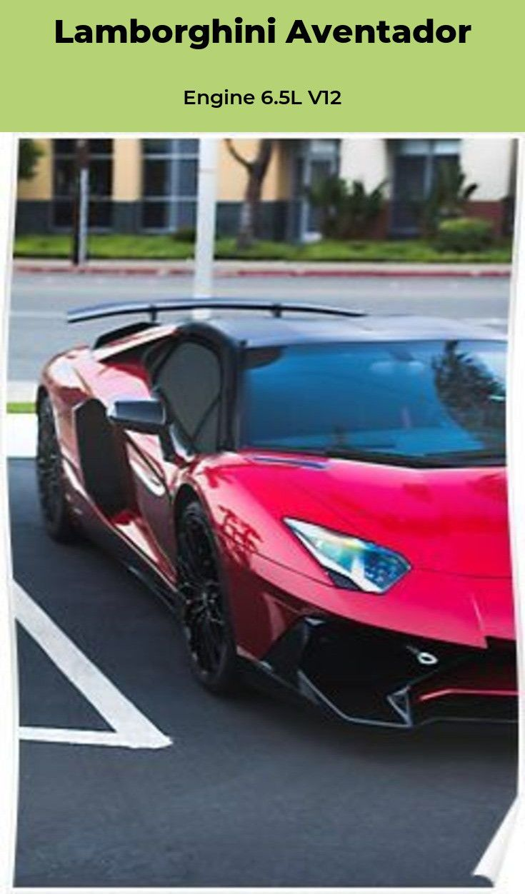 The Lamborghini Aventador Price 393695