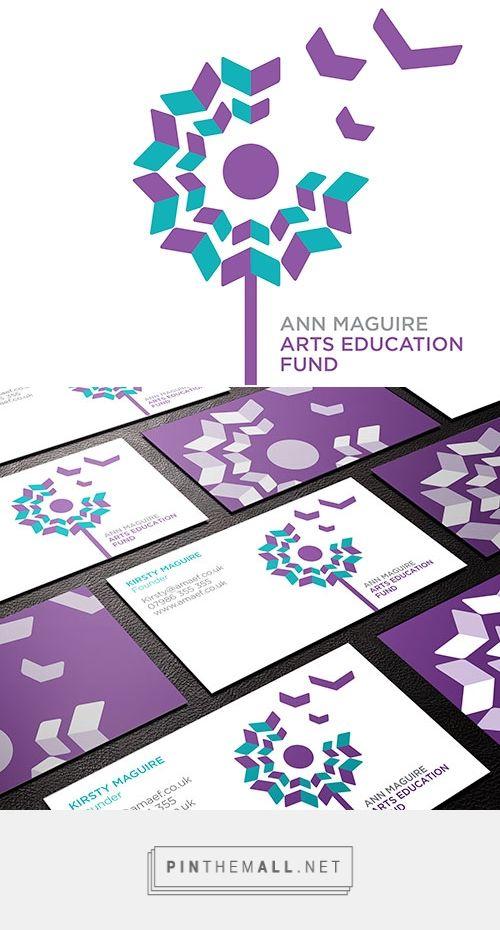 Ann Maguire Arts Education Fund | Logo Design Love - created via http://pinthemall.net