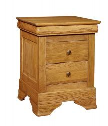 Chateau Oak 3 Drawer Bedside http://solidwoodfurniture.co/product-details-oak-furnitures-3089-chateau-oak-drawer-bedside.html