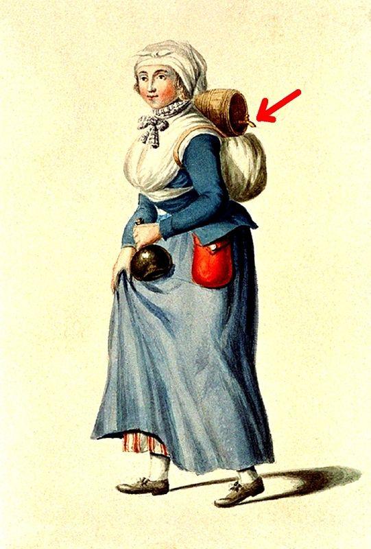 Vivandiere, ca. 1800s