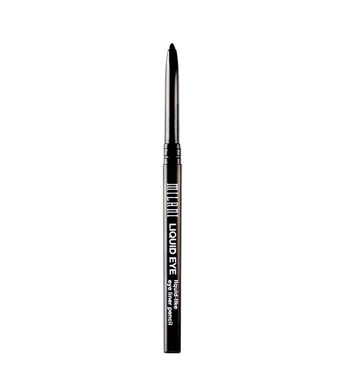 8 Drugstore Eyeliners Makeup Artists Swear By (All Under $8) via @ByrdieBeauty | Milani Liquid Eye Liquid Eyeliner Pencil ($7)