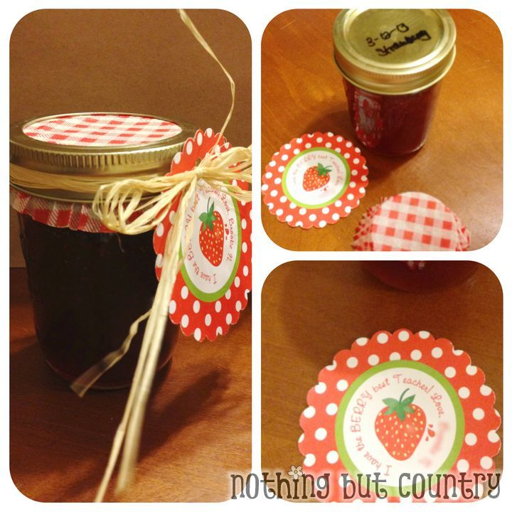 """Berry Appreciation Gift- Put this free printable """"I have ..."""