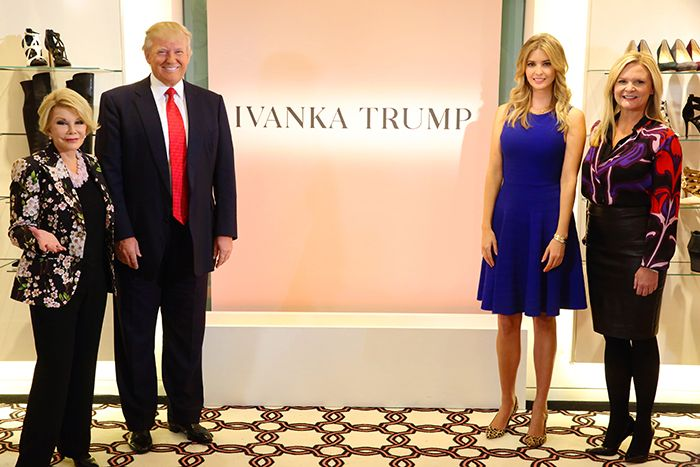 From The Thread Blog — Fashion, beauty and daily inspiration from Nordstrom. Ivanka Trump and Nordstrom intoduce her new shoe line on the Aprentice!
