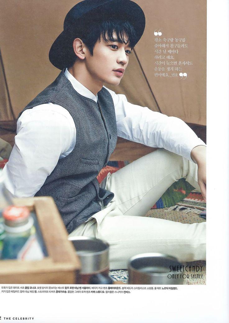 150515 SHINee Minho - The Celebrity Magazine June Issue