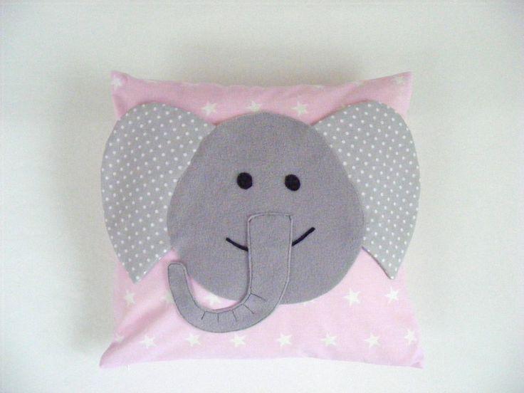 podusia słonik w BettyPillows na DaWanda.com