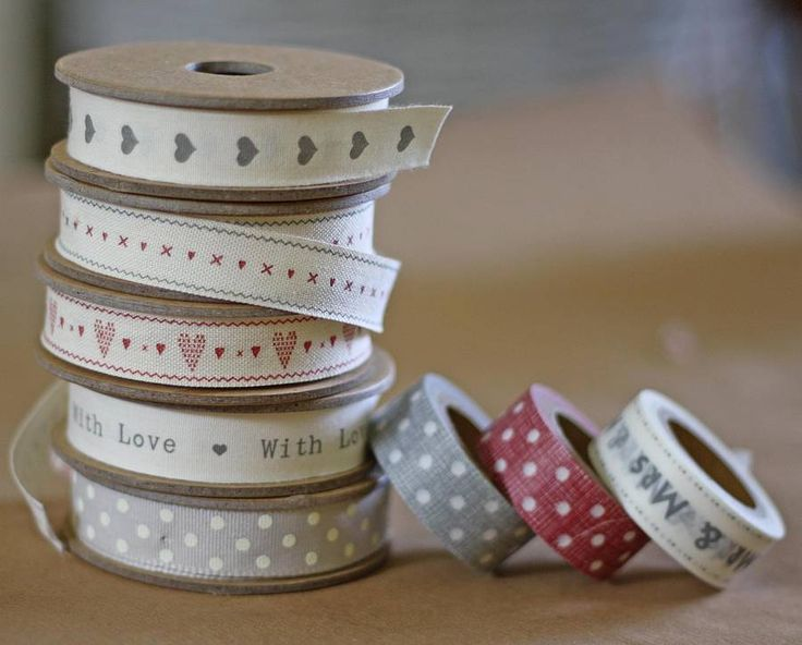 wedding ribbon and tape by the wedding of my dreams | notonthehighstreet.com