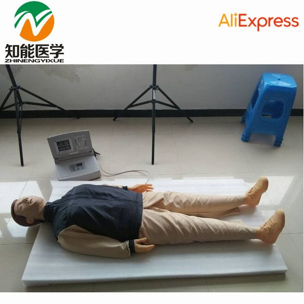 BIX/CPR480 Adult Full Body Electronic CPR Cardiopulmonary Resuscitation Manikin Model Medical Science W104