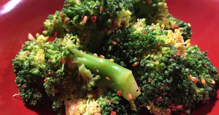 簡単だけど本格的な味。レンジでチンで水っぽくなくたっぷりブロッコリー食べれます。 一品足りない時とかおすすめの簡単レシピ