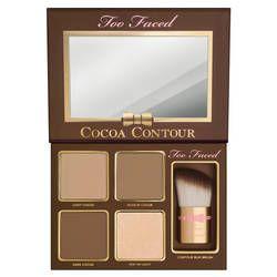 cocoa contour chiseled to perfection palette de maquillage de too faced sur sephorafr - Prix Maquillage Mariage Sephora