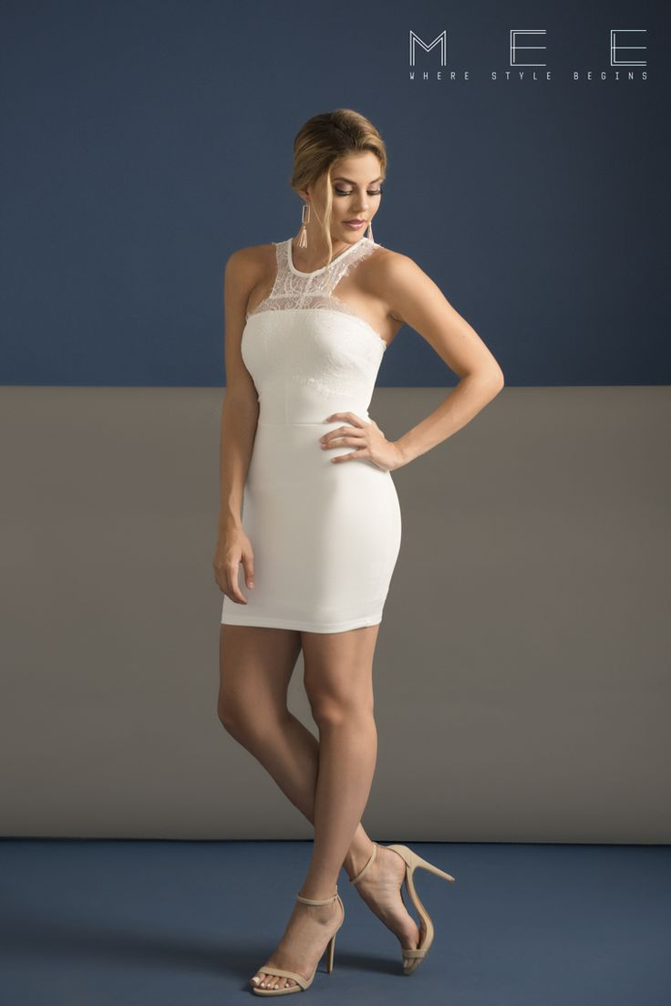 Foto #13 White lace Detail dress Pedidos al Whatsapp:8426-9573  Envíos a cualquier parte del país