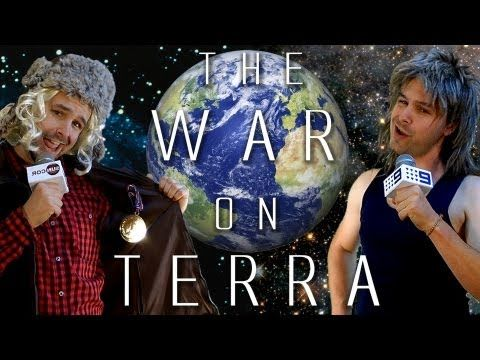 'The War on Terra' – sadly, this talented and ironic comment to Australia's and Canada's energy politics is still more relevant than ever