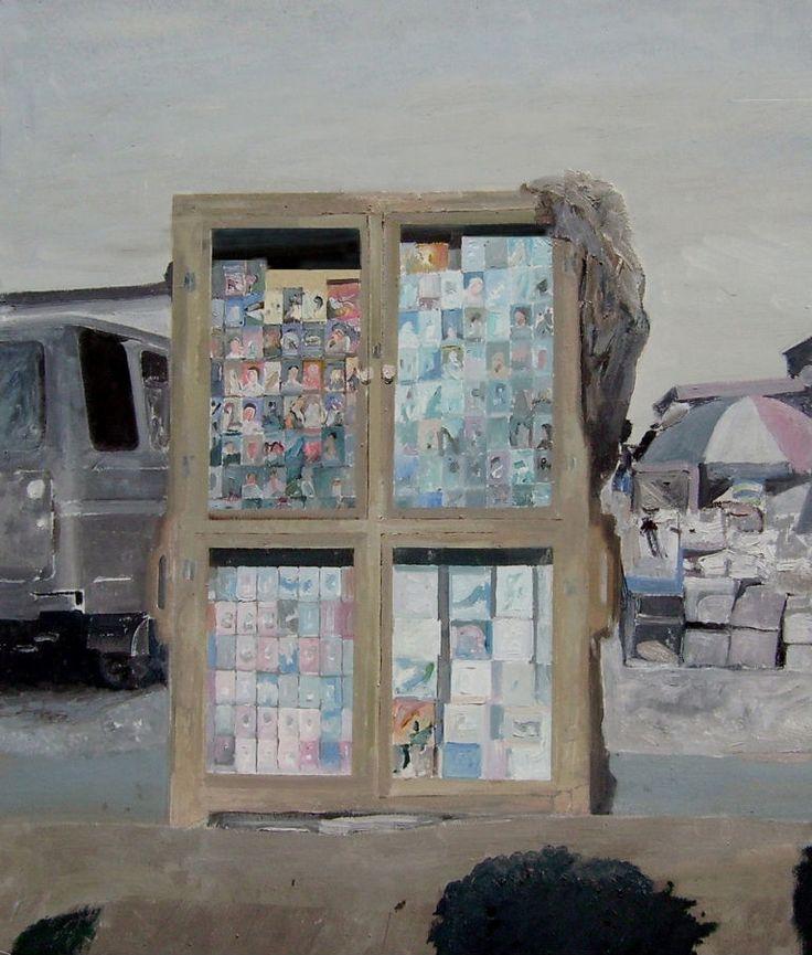 Edi Hila, Dans la rue - le Meuble, 2007