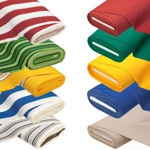 Das Allround-Gewebe verfügt über eine ganze Reihe an Eigenschaften, die dafür sorgen, dass Ihr lange Spaß an Euren Näharbeiten haben werdet:  - wasserabweisend (nicht wasserfest) - Anti-Fleck- und Anti-Schimmel-Ausrüstung - strapazierfähig - Lichtechtheit 5 - große Auswahl an Farben