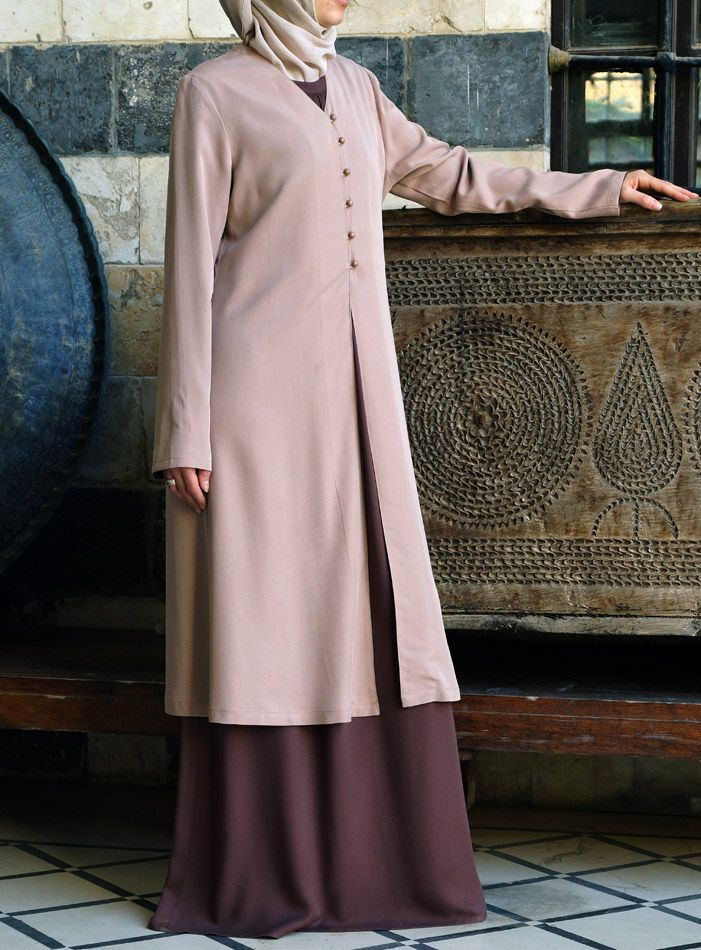 Tencel Cardigan from Shukr Islamic Clothing! Perfect for Layering in warm weather!