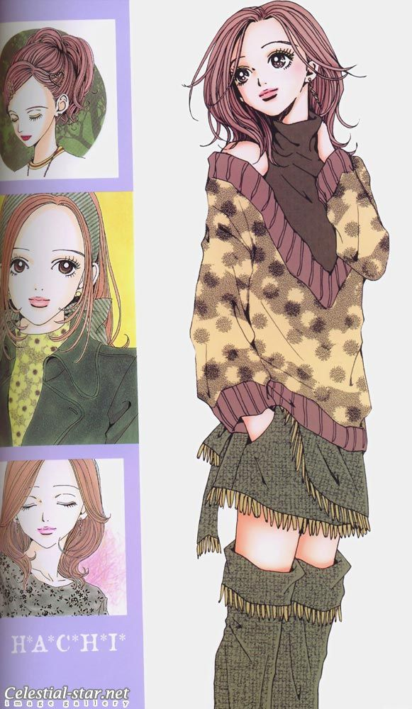 from Ai Yazawa's Nana. She's definitely one of the best Japanese illustrators.
