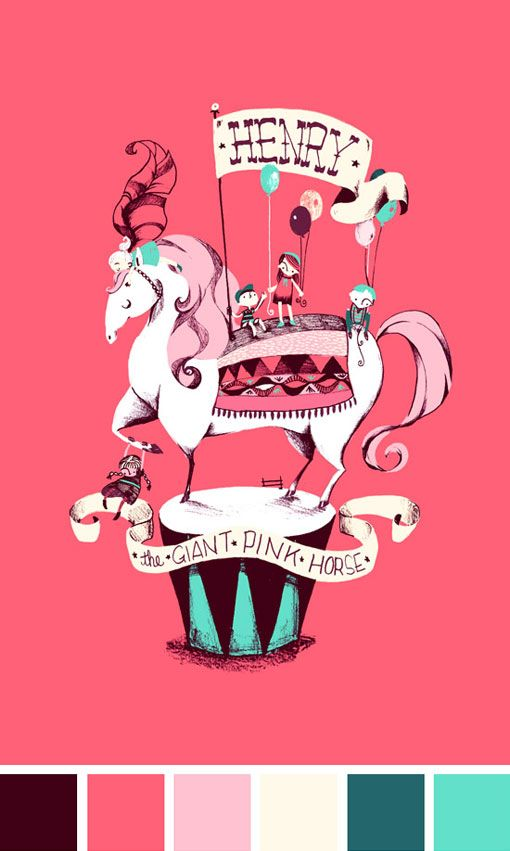 This super sweet, fantastical illustration is the result of a collaboration between Mika J. Nakano and Rachel Dougherty on Ten Paces and Draw.