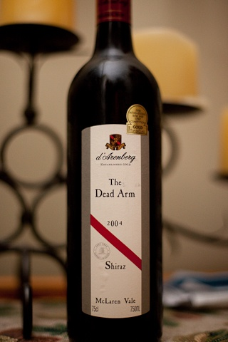 d'Arenberg 'The Dead Arm' Shiraz. I keep going back for more.
