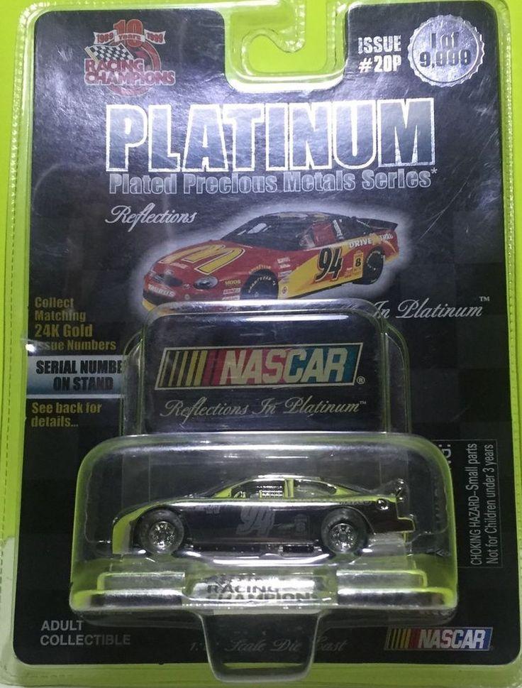 Nascar Platinum Plated Precious Metals series 1/64 Die