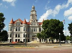 Dallas County Courthouse  Adel IA