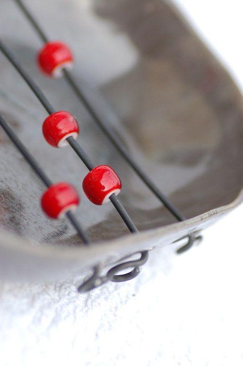 Mýdlenka keramická miska - počítání (do čtyř)