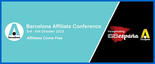 Online gambling's Barcelona Affiliate Conference to begin on October 3rd and run until the 6th. Read more at http://blog.casinocashjourney.com/2013/10/02/barcelona-affiliate-conference/