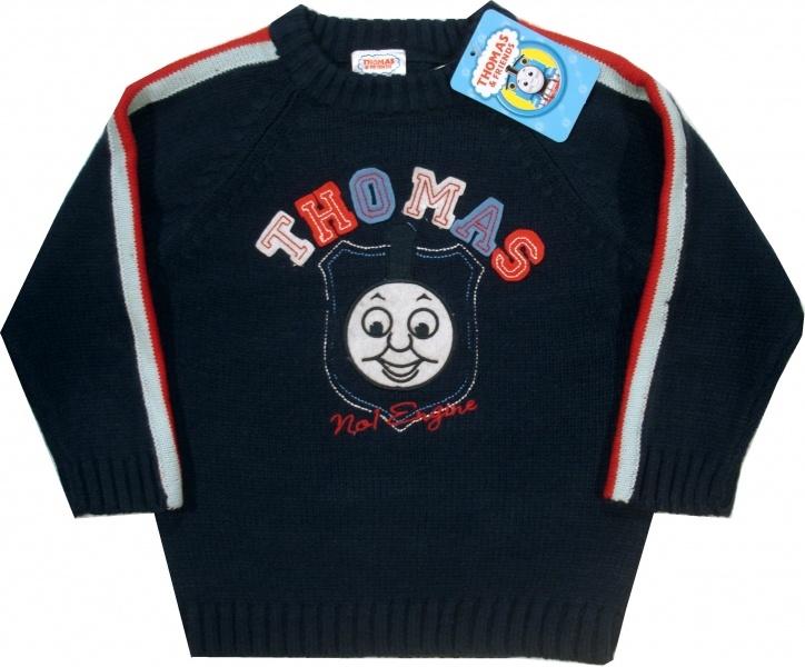 Haine Copii - Bluza tricotata oficiala Thomas, 100% acrilic.