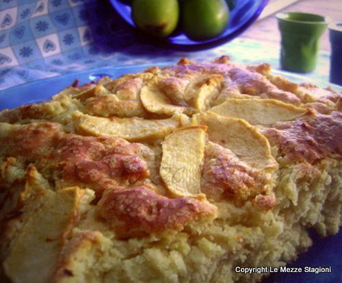 Torta di mele e ricotta #food #torte