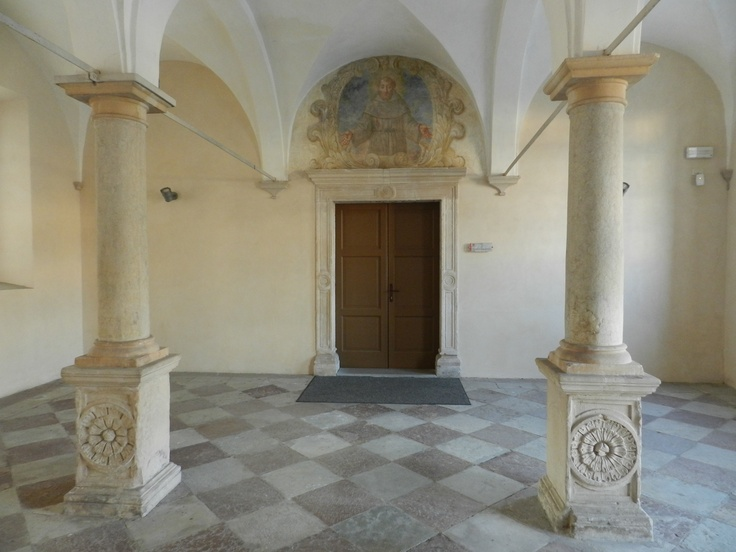 Inside the convent of San Francesco, Conegliano