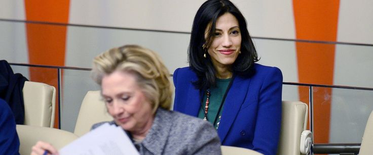 """FBI Found """"Tens Of Thousands Of Emails"""" Belonging To Huma Abedin On Weiner's Laptop"""