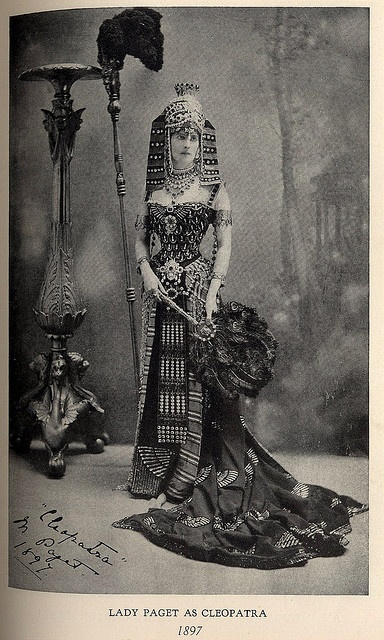 Lady Paget in Cleopatra costume by Worth