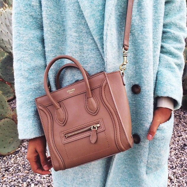 pastel blue + dusty rose celine