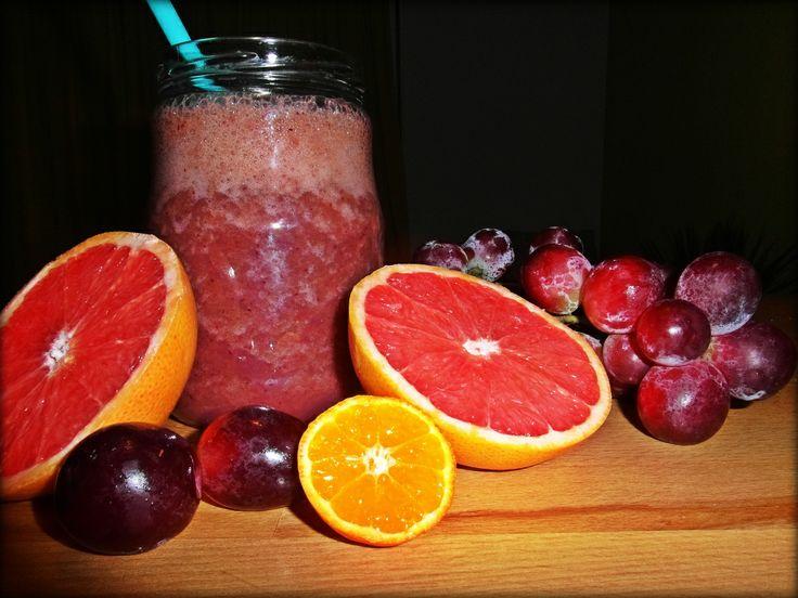 džus - hrozno, grapefruit, mandarinka, špenát