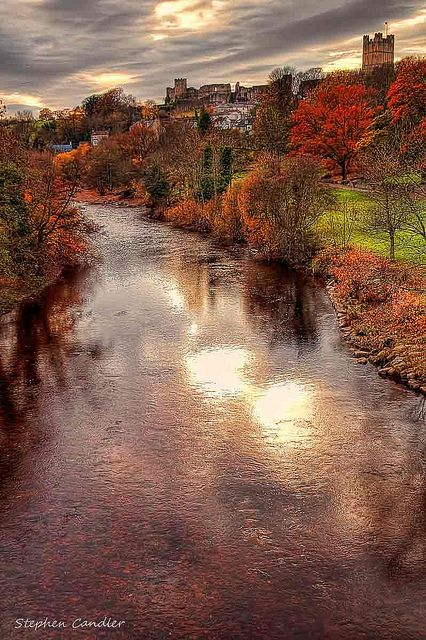 Along the River Swale, Richmond, North Yorkshire, England