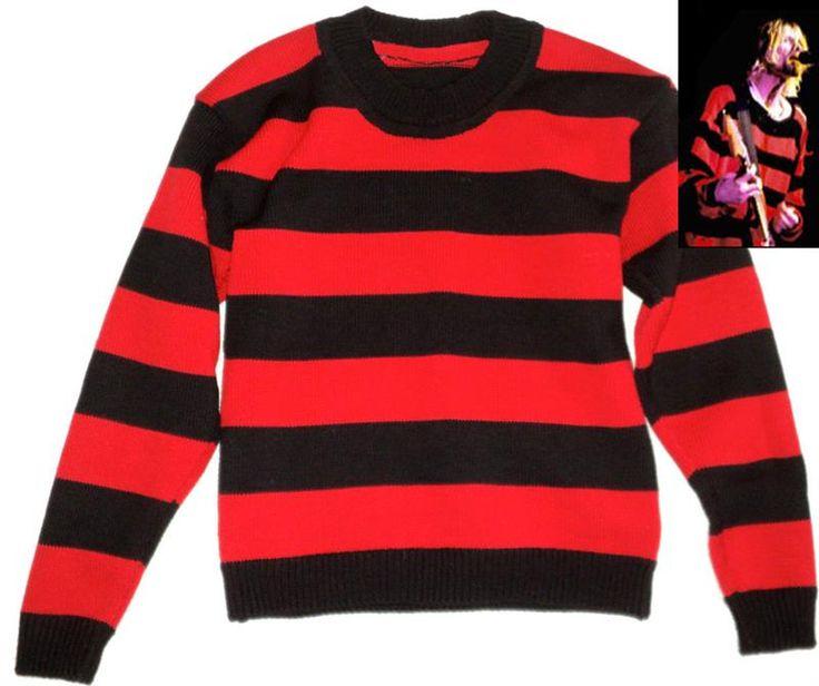 Чёрно красный свитер