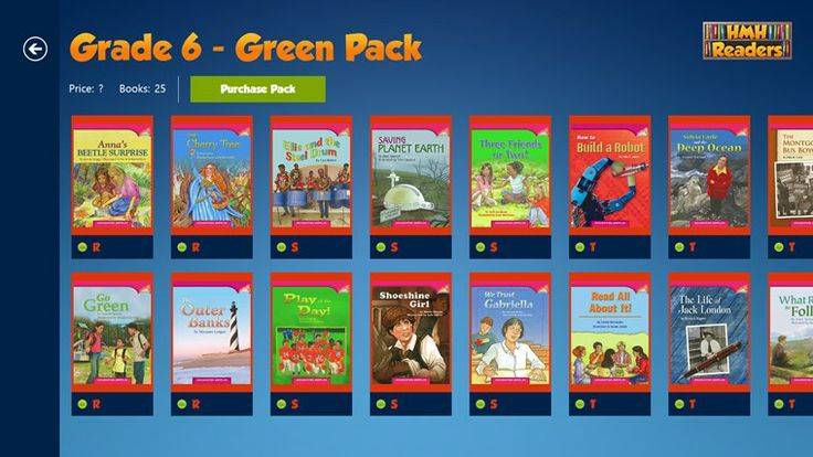 HMH Readers // feature interesting non-fiction and fiction selections designed for young readers to reinforce reading skills, to promote academic vocabulary acquisition, and to improve reading fluency and comprehension.